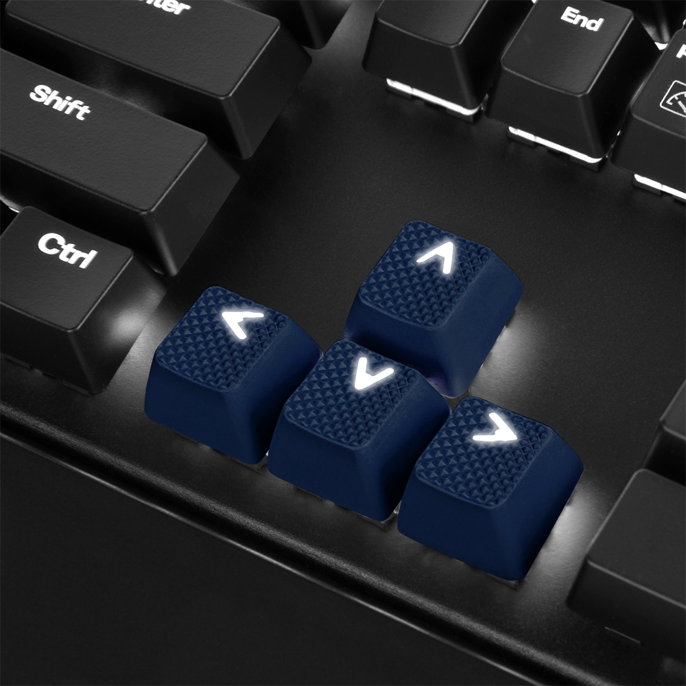 Mechanical Rubber Keyset (14)