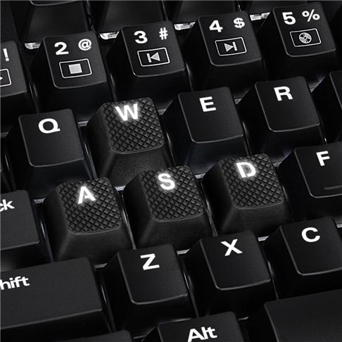 Mechanical Rubber Keyset (18)